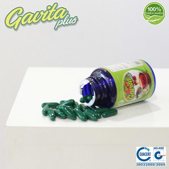 Gavita Plus - bổ sung Lutein và Zeaxanthin, Kẽm Gluconat hỗ trợ bảo vệ sức khỏe đôi mắt