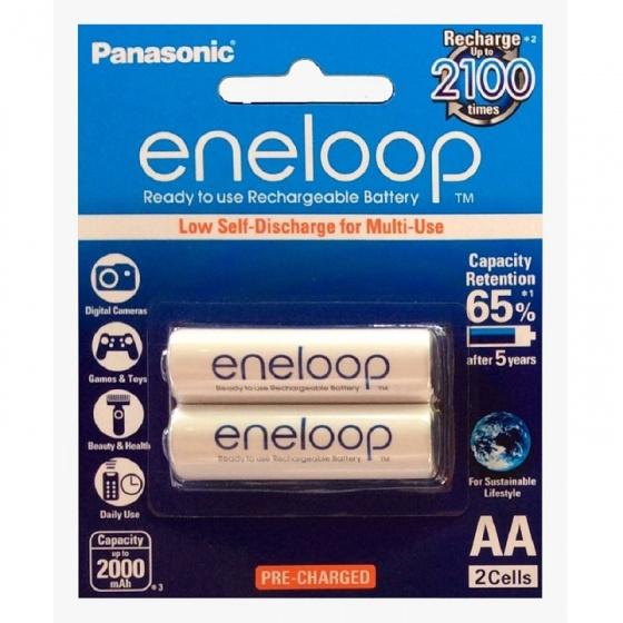 Pin sạc Panasonic Eneloop AA 2000 mAh