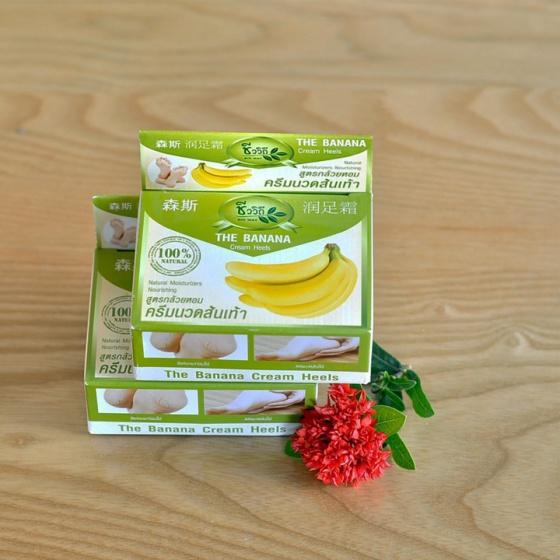 (Sản phẩm Thái) kem thoa trị nứt gót chân Banana Thái Lan - ngăn ngừa nứt nẻ, tăng độ đàn hồi cho da