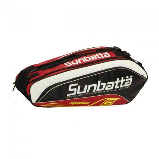 Túi vợt cầu lông/ tennis 2 ngăn Sunbatta BGS-2153