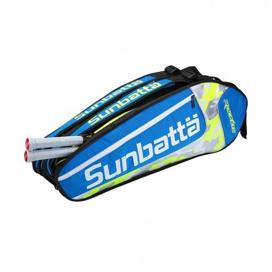 Túi vợt cầu lông/ tennis 2 ngăn Sunbatta BGS-2158