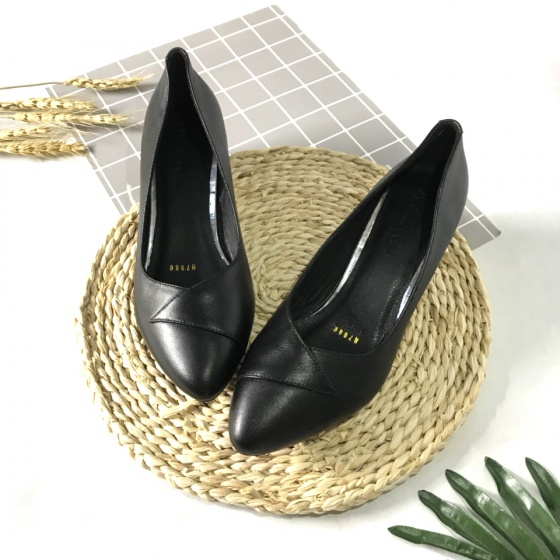 Giày cao gót nữ da thât 3cm 3PKM Lucacy