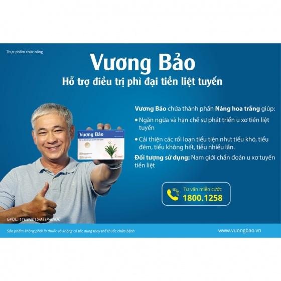 Vương Bảo hỗ trị điều trị phì đại tuyến tiền liệt - Vương Bảo
