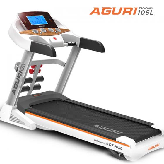Máy chạy bộ điện Aguri AGT-105L - màu sắc trẻ trung - giá ưu đãi