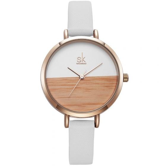 Đồng hồ nữ chính hãng Shengke Korea K8036L-03 trắng