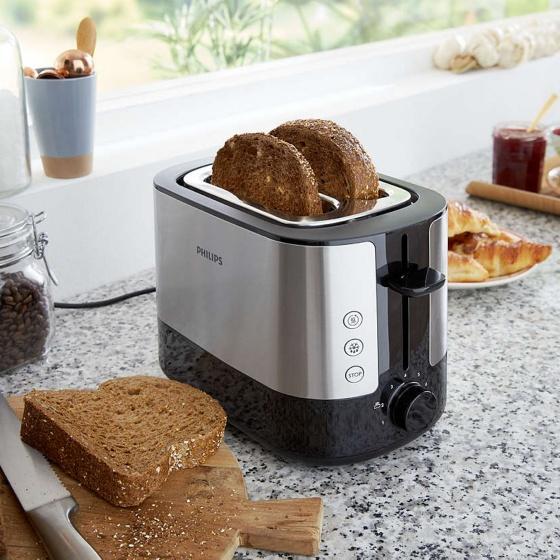 Máy nướng bánh mì Philips HD2637 900W