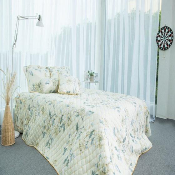 Chăn hè thu chần gòn cotton Grand HQS 159 - 180 x 200 cm