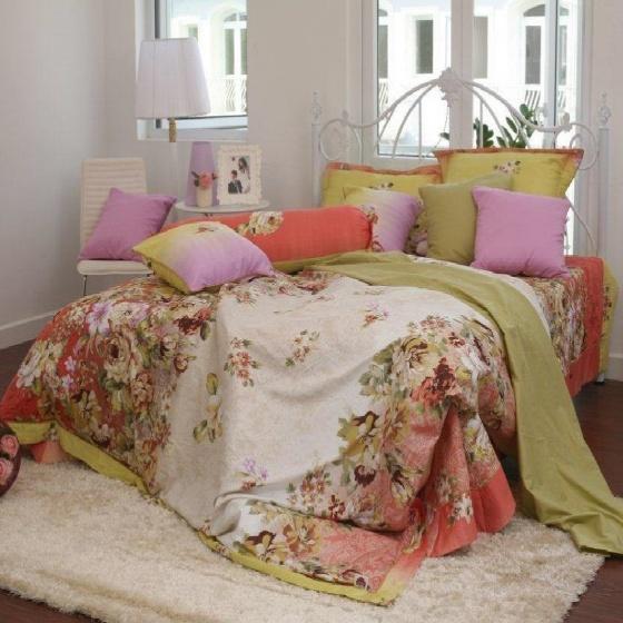 Chăn hè thu chần gòn cotton sateen Grand HQKR 10 - 200 x 210 cm