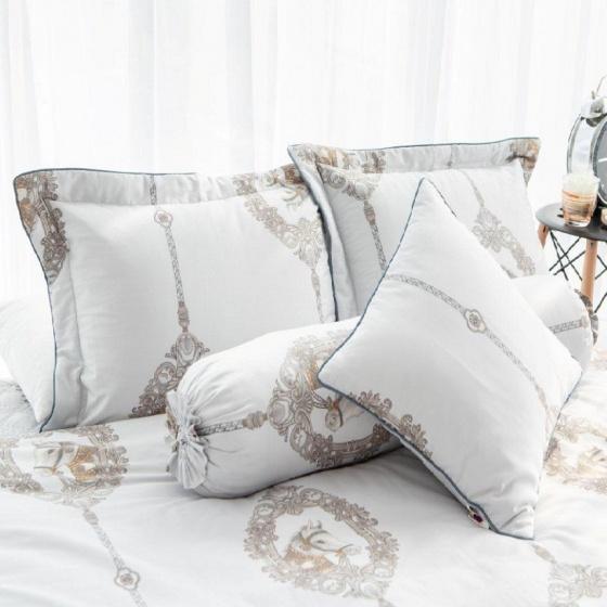 Chăn hè thu chần gòn cotton sateen Grand HQKR 34 - 200 x 210 cm