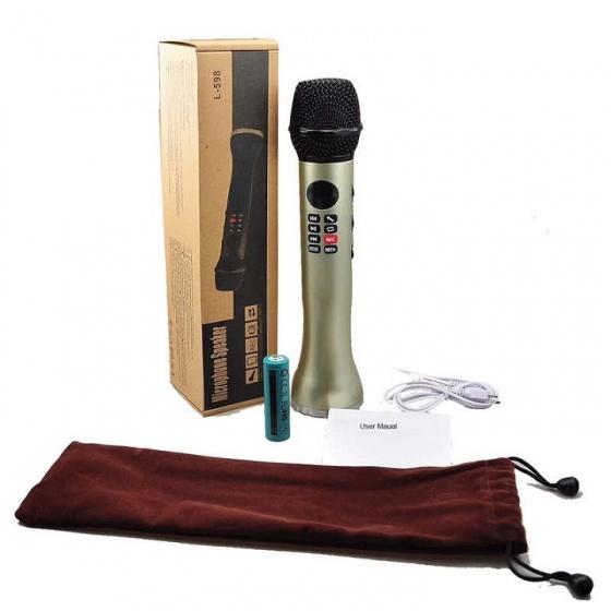 Mic karaoke Bluetooth JVJ L598