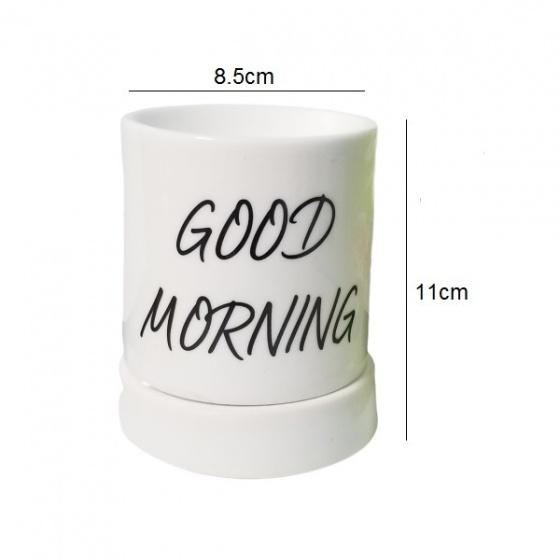 Đèn xông tinh dầu gốm bát tràng dáng ống tặng 01 tinh dầu 10ml (mùi tự chọn) và 01 bóng đèn dự phòng (ON01)