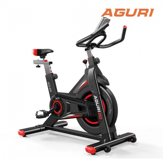 Xe đạp tập thể dục Aguri AGS-202 - trẻ trung hiện đại - giá hấp dẫn