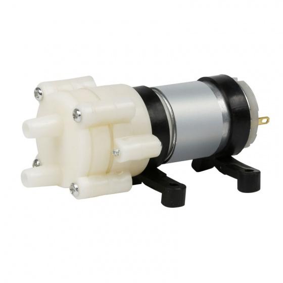 Máy bơm mini áp lực 12V 12W 2L kèm nguồn điện