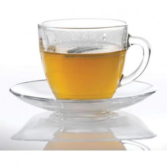 Bộ 6 tách trà thủy tinh chịu lực Duralex Pháp Gigogne trong 220 ml