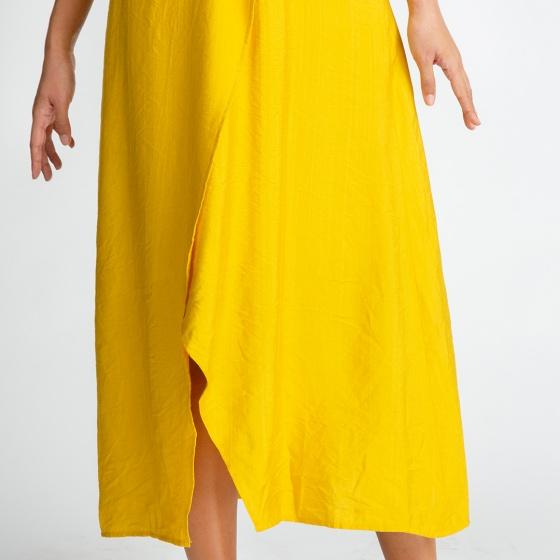 Đầm maxi Hity DRE090 (vàng mù tạt mustard)