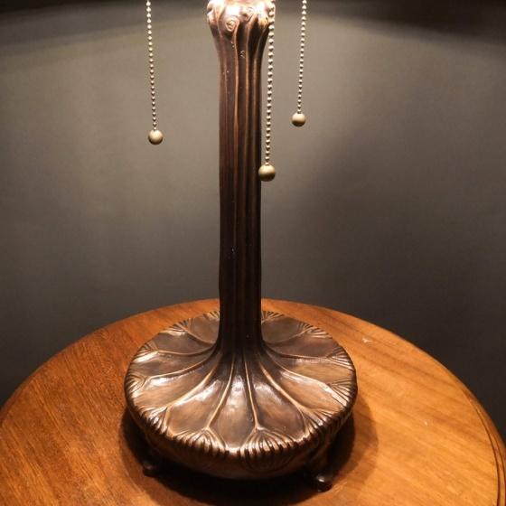 Đèn bàn trang trí Tiffany cá chép - chao 46