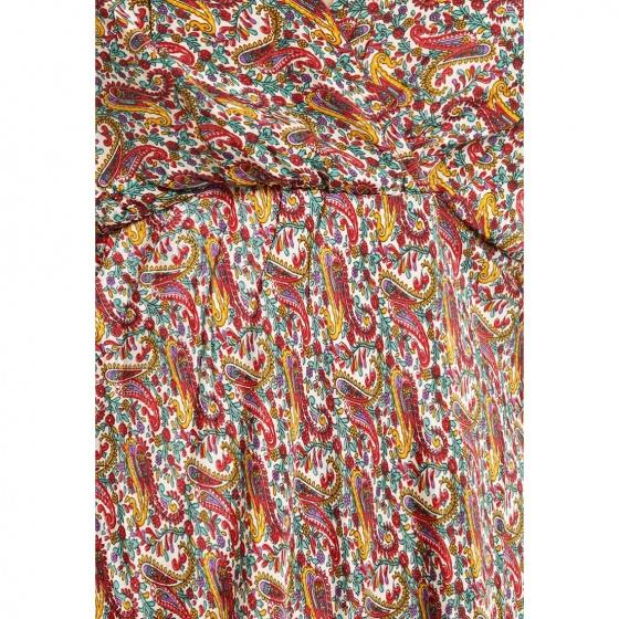 Đầm tay cánh tiên họa tiết thổ cẩm Luna Llena LN174RG186-PR