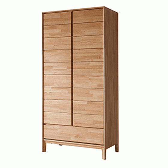 Tủ quần áo Poppy gỗ cao su 1m2 - Cozino