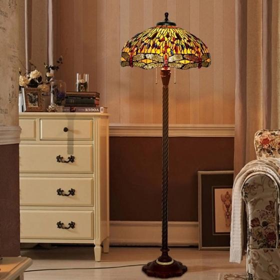 Đèn sàn trang trí Tiffany chao 51
