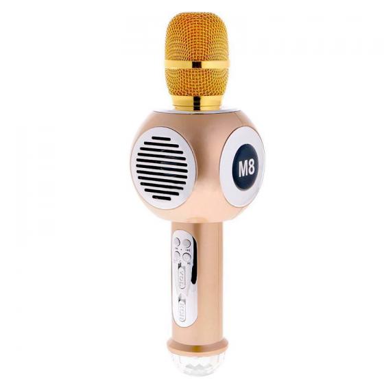 Mic karaoke bluetooth JVJ M8  tặng tai nghe ovleng X10