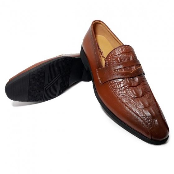 Giày tây nam da bò thật HS47