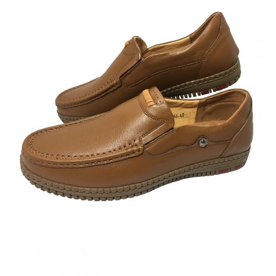 Giày lười nam da bò thật HS31