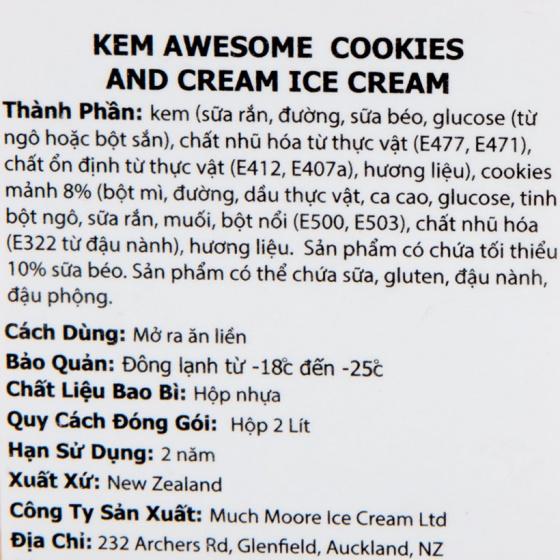 Kem bánh cookies