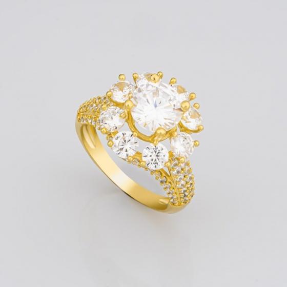 Nhẫn nữ đính đá sang trọng uha nn89