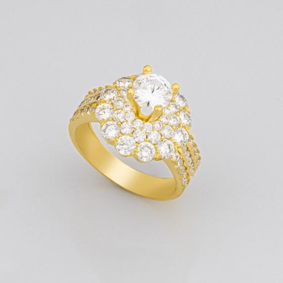 Nhẫn nữ đính đá sang trọng uha nn90