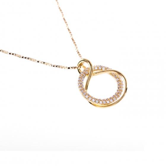 Mặt dây chuyền vàng đính đá DOJI 14K 0819P-LAL306