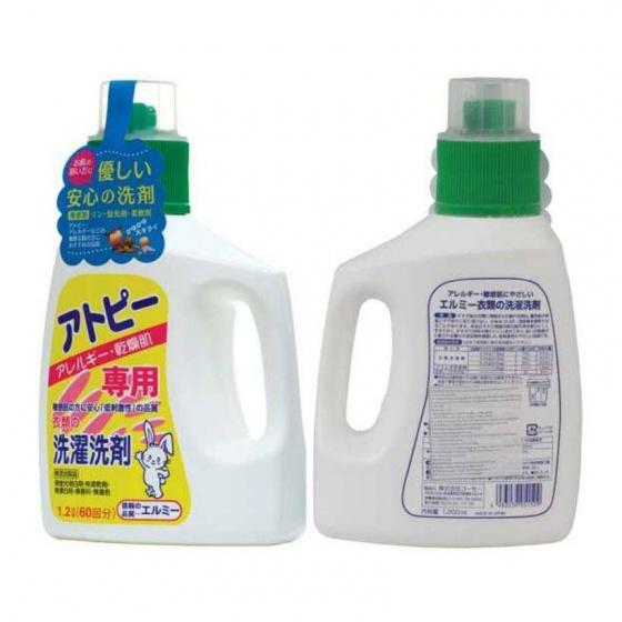 Combo nước giặt + nước giặt cổ áo dành cho da thường, da dị ứng Elmie