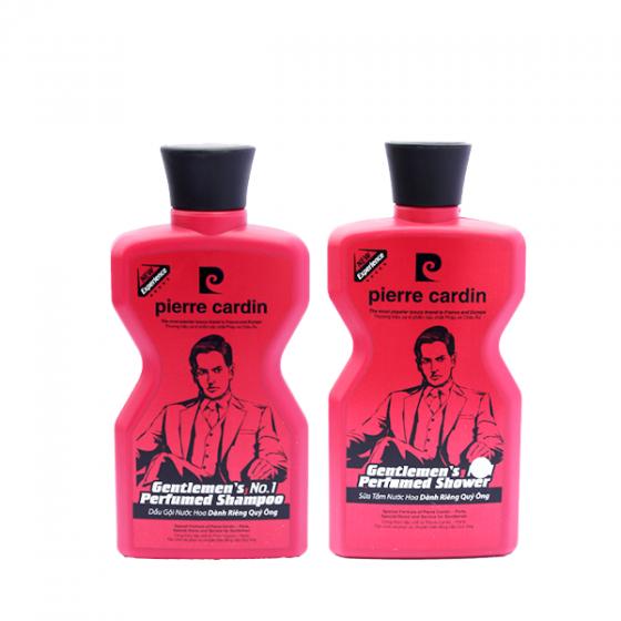 Combo sữa tắm và dầu gội nước hoa Gentlemen's Pierre Cardin 380g
