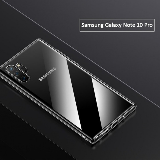 Ốp lưng Samsung Galaxy Note10,Note10 Plus USAMS US-BH512,US-BH513 (chất dẻo trong suốt)