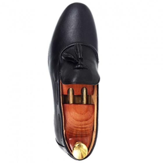 Giày lười nam - da bò đế phíp con ong - bảo hành 1 năm (2h - 64) tặng ví nam + tất khử mùi cao cấp