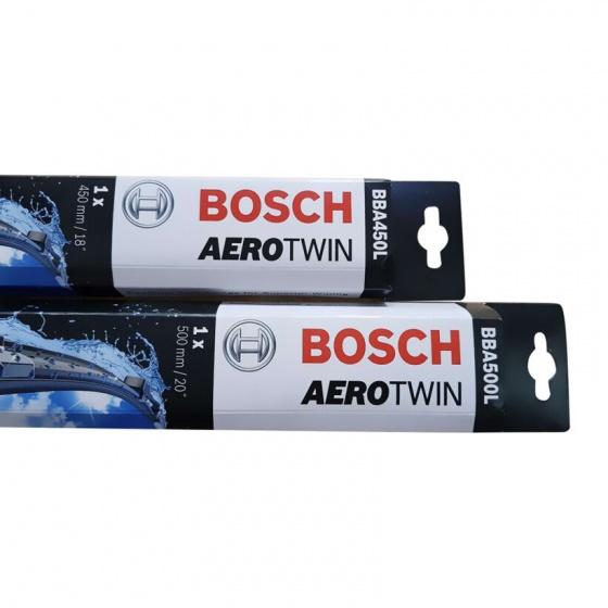 """Cặp gạt mưa ô tô Bosch AeroTwin 20""""-18"""" cho Accent đời 2016 (đen)"""
