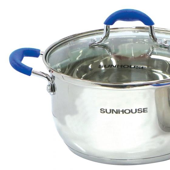 Bộ nồi Inox 5 đáy Sunhouse SHG2503MBD
