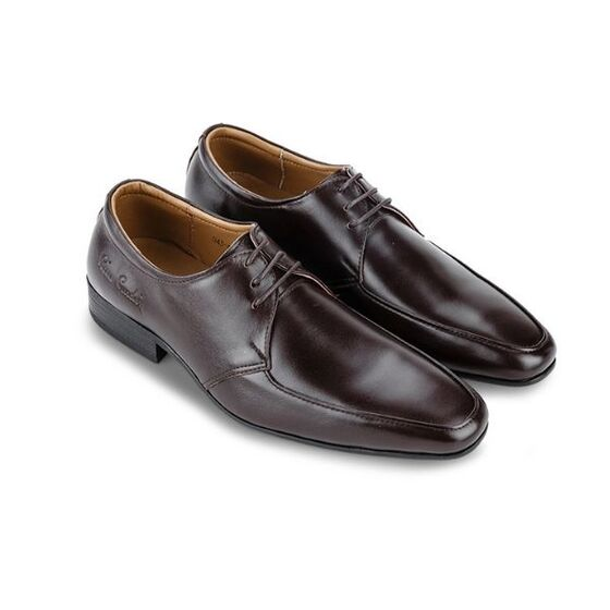 Giày da Pierre Cardin Brown Derby Cement - PCMFWLB043BRW màu nâu