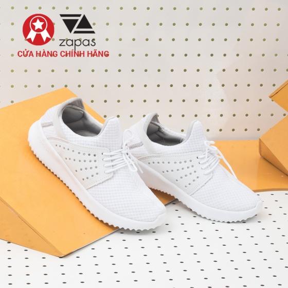 Giày nữ, giày thể thao sneaker Zapas năng động cá tính siêu nhẹ thoáng khí - ZR013 (màu xám)