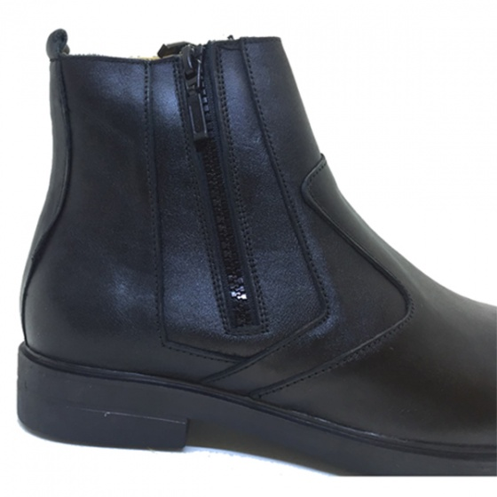 Giày chelsea boot da bò nguyên tấm khóa 2h - 55