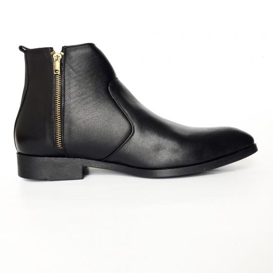 Giày nam da bò thật chelsea boots