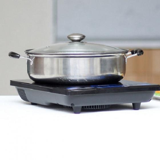 Bếp từ Philips HD4921 (Tặng nồi lẩu to) - Hàng chính hãng - Bảo hành 2 năm trên toàn quốc