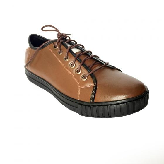 Giày thể thao sneaker nam da bò thật GTT34