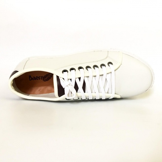 Giày nam thể thao da bò thật GTT36
