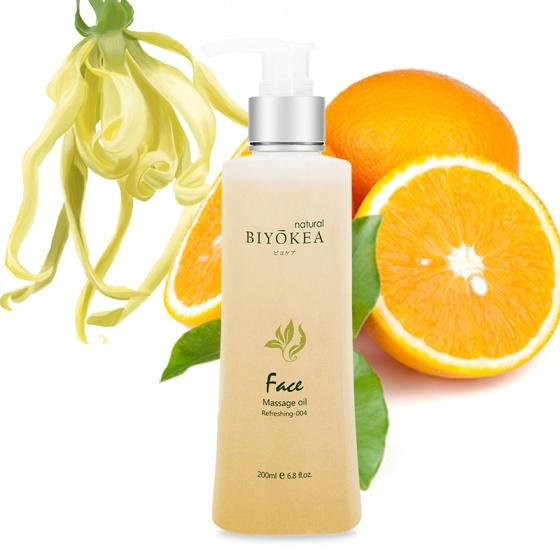 Dầu massage mặt Refreshing M004 - làm mới - Trắng - Freesize [QC-Vneshop]