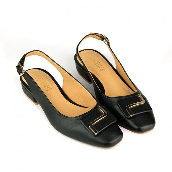 Giày búp bê êm chân Sunday BB36 đen