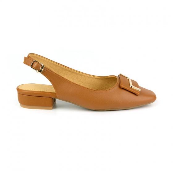 Giày búp bê êm chân Sunday BB36 nâu