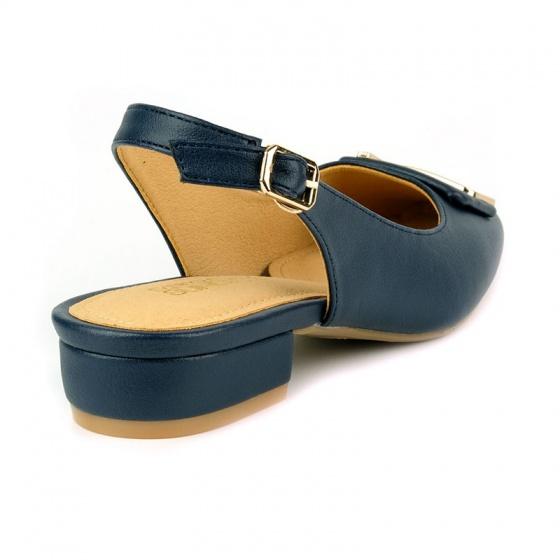 Giày búp bê êm chân Sunday BB36 xanh