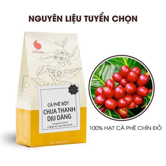 Cà phê bột chua thanh dịu dàng Light Coffee - gói 500g