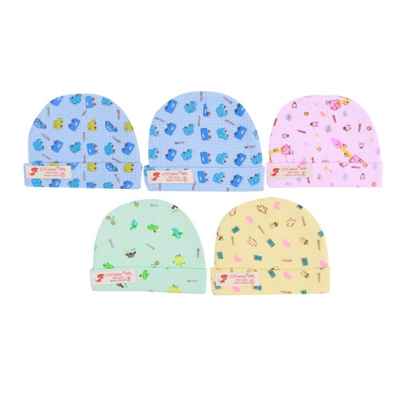 Combo 5 mũ in họa tiết Mintuu MT6041