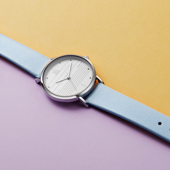 Đồng hồ nữ chính hãng Shengke Korea K8007L-02-ST-BL